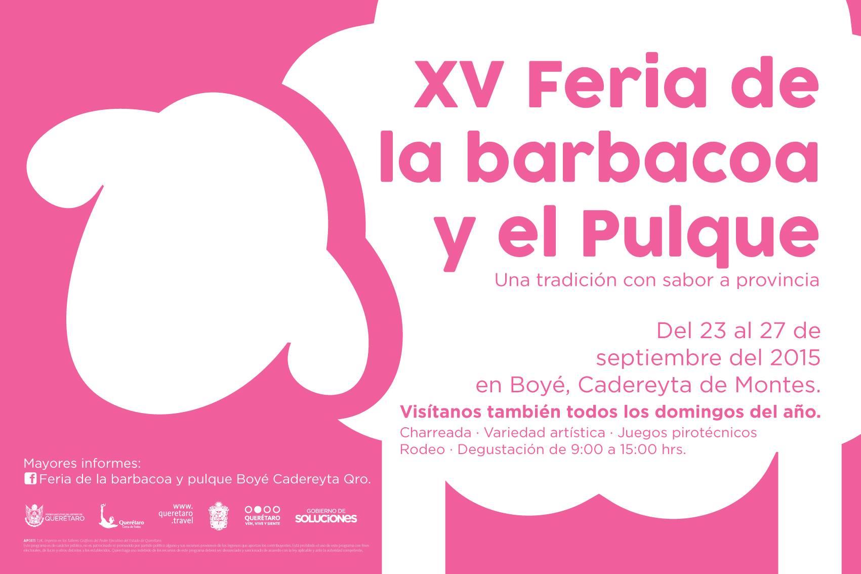 Feria de la Barbacoa y el Pulque