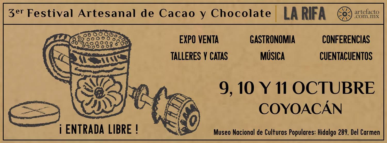 banner festival cacao para todos