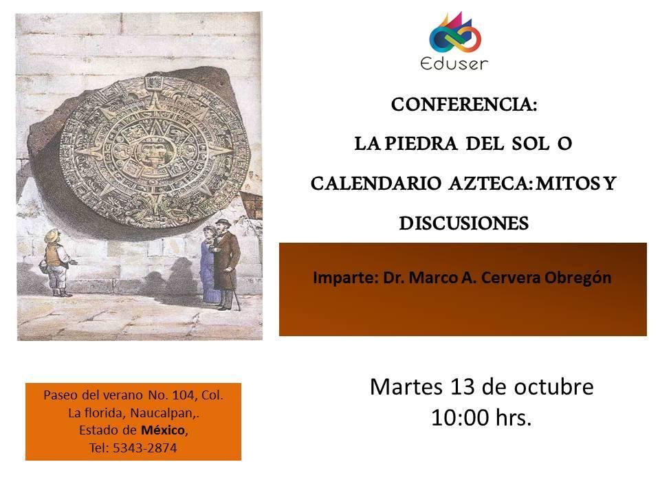 Piedra del sol o Calendario Azteca?