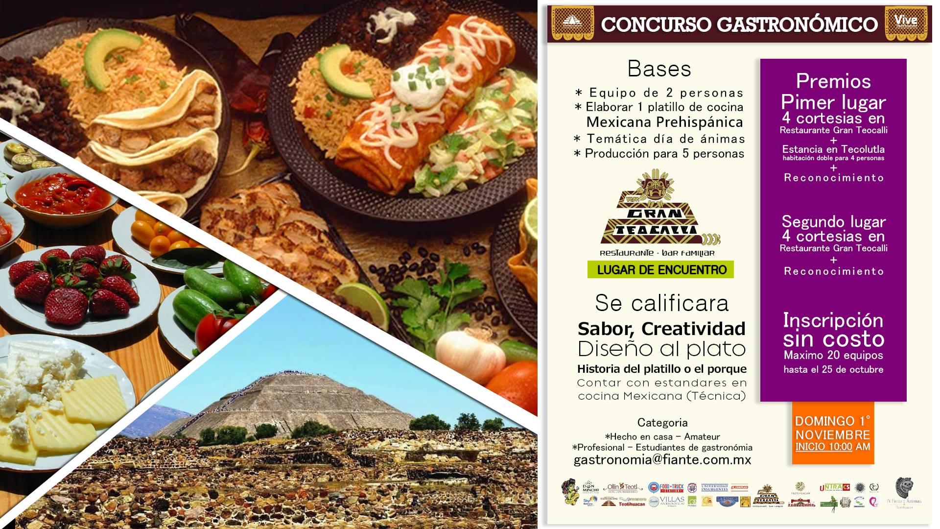 Concurso Gastronomico de Cocina Mexicana Prehispanica