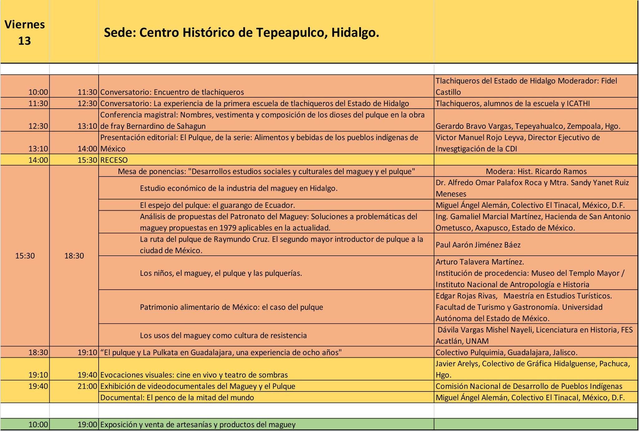 6to Congreso nacional del pulque PAGINA UNO