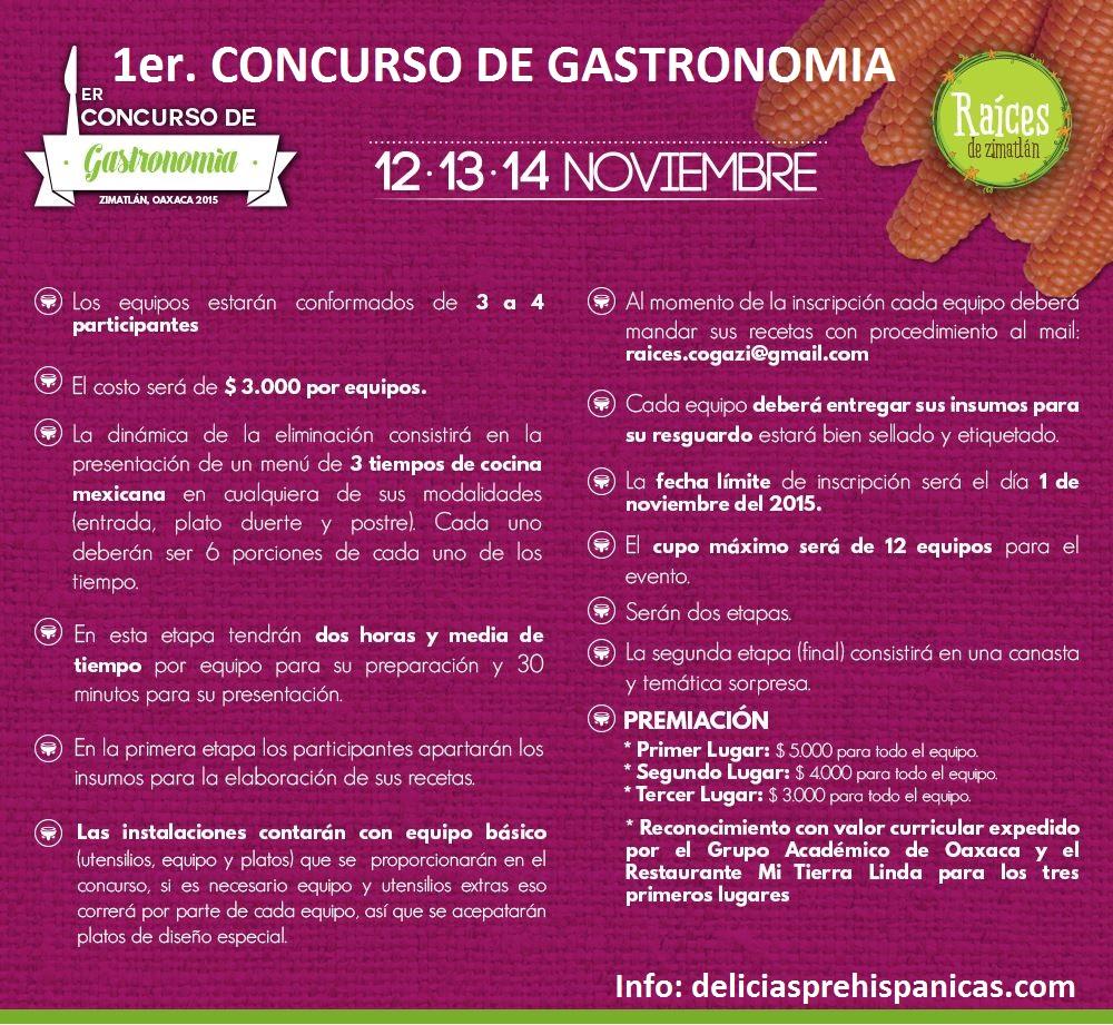 Concurso de Gastronomia Zimatlan