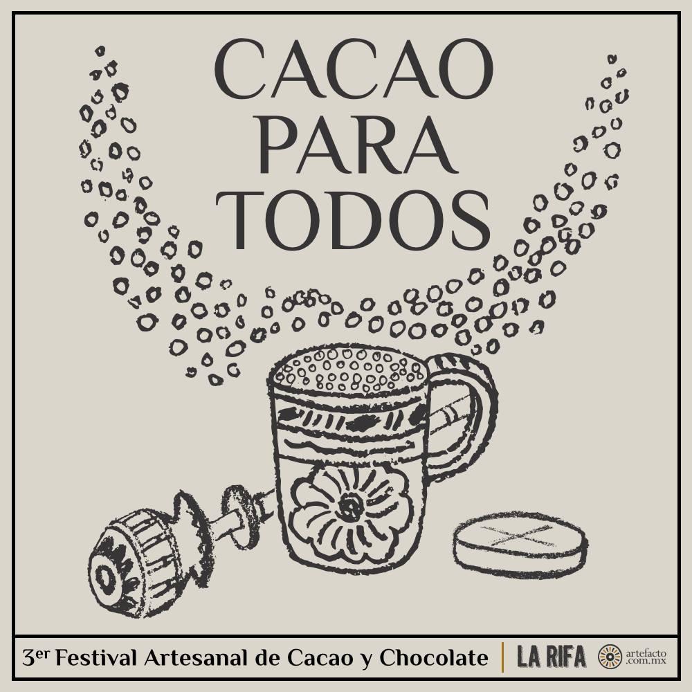 3a. Edición Festival Artesanal de Cacao y Chocolate, Mexico D.F. Octubre.