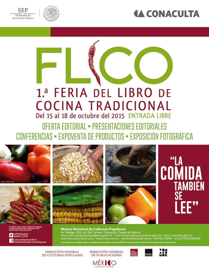1a. Feria del Libro de Cocina Tradicional.