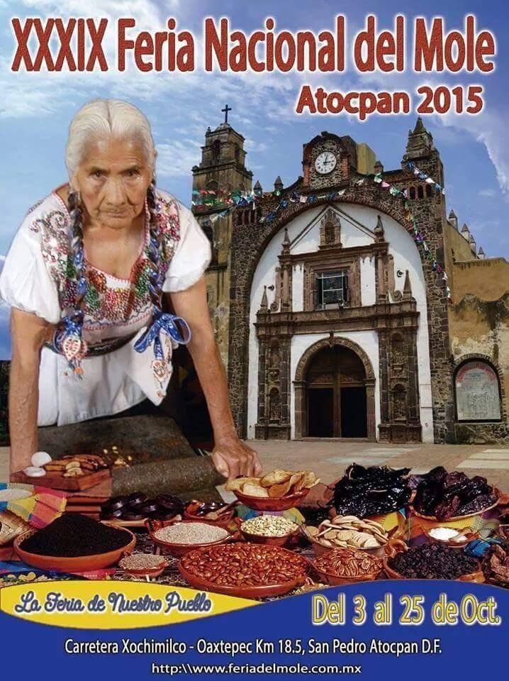 39 Feria Nacional del Mole, Atocpan 2015