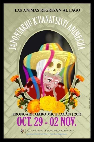 Semana Cultural «Japontarhu k'uanatsisti animecha» (Las ánimas regresan al lago) –  Erongarícuaro, Michoacán