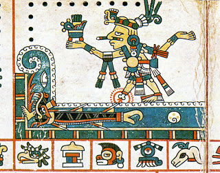 Un tiburón toro en los jeroglíficos.