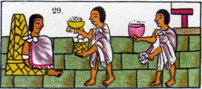 Hablando de Chocolate y Tamales en el Códice Florentino.