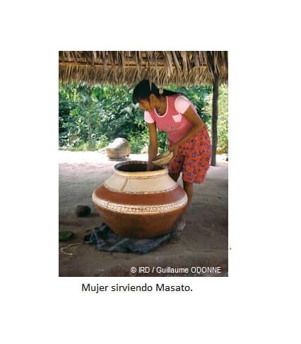 Masato, cachiri, yalaki y yukuta. Bebidas de origen Prehispánico.