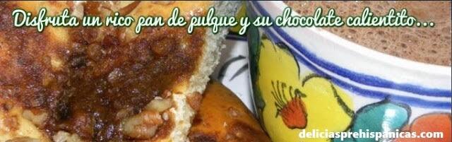 La Receta original del Pan de Pulque (semita).