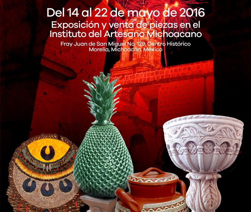 Concurso Estatal de Alfarería, Cantería y Arte Plumario Michoacan 2016/
