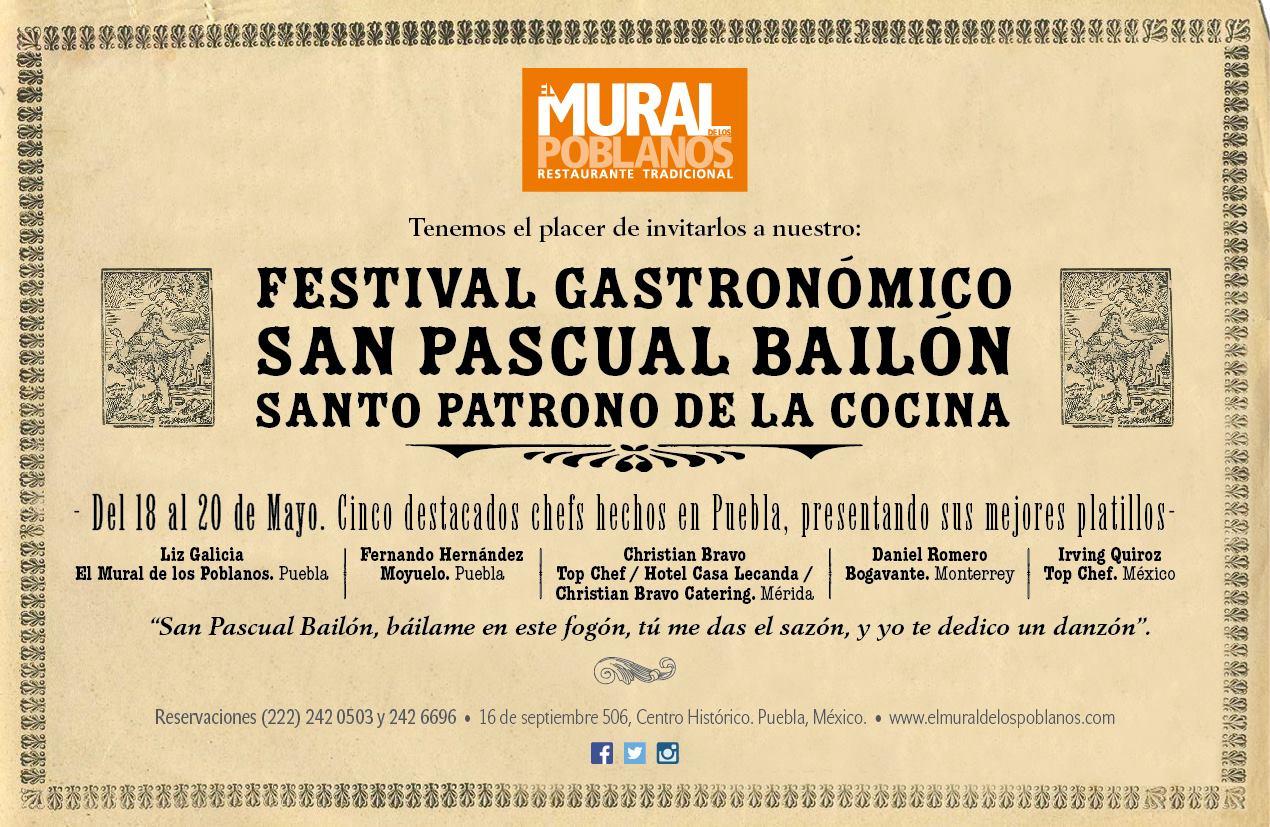Festival Gastronómico de San Pascual Bailón