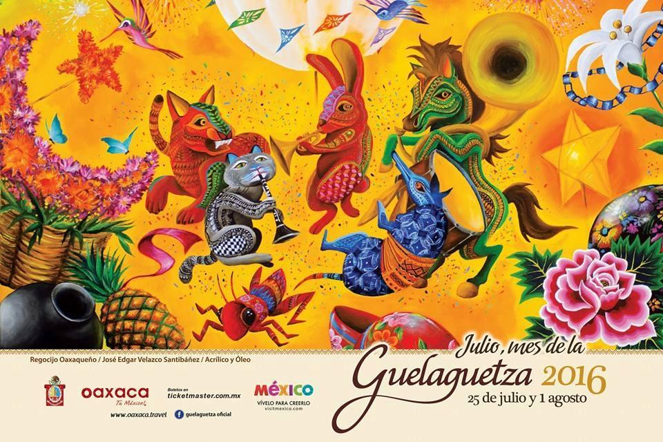 Ya viene la Guelaguetza 2016