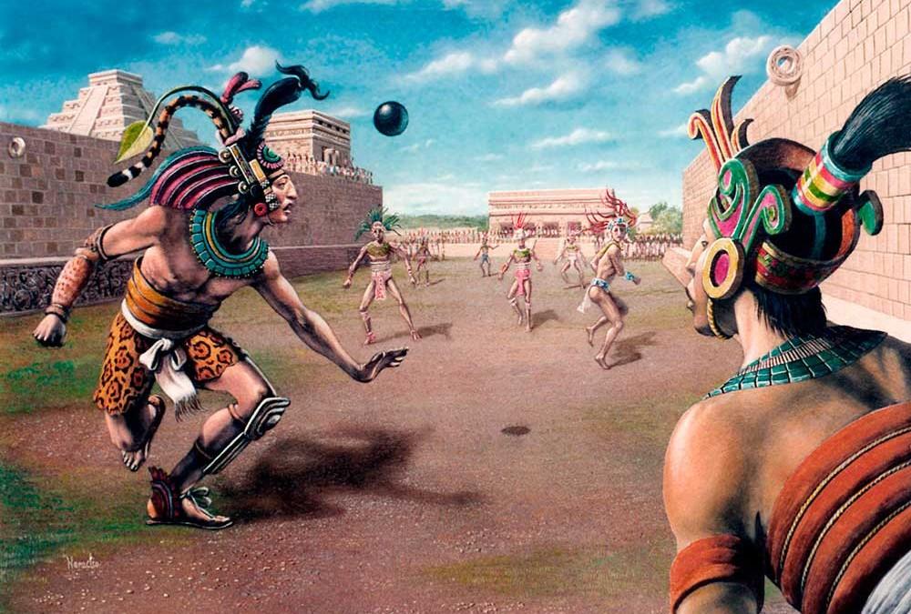 Historia del Juego de Pelota en el México Antiguo, INAH.