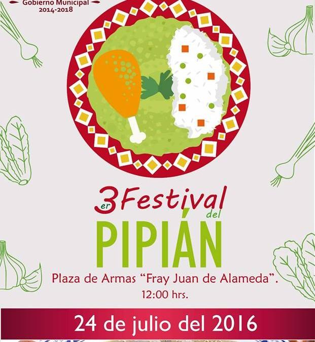 ¡Ya viene el 3er. Festival del Pipián en Huejotzingo!