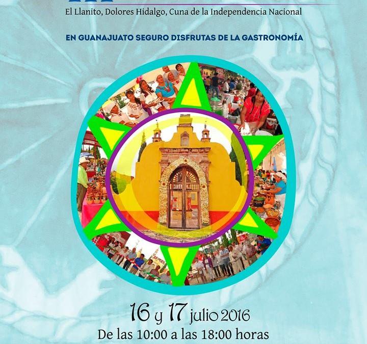 3er. Muestra de Cocina Hñahñu Otomí, 16 y 17 de Julio.