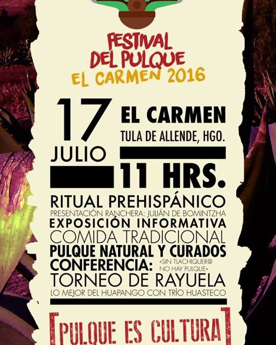 Festival del Pulque El Carmen 2016 Pulquefestambulante