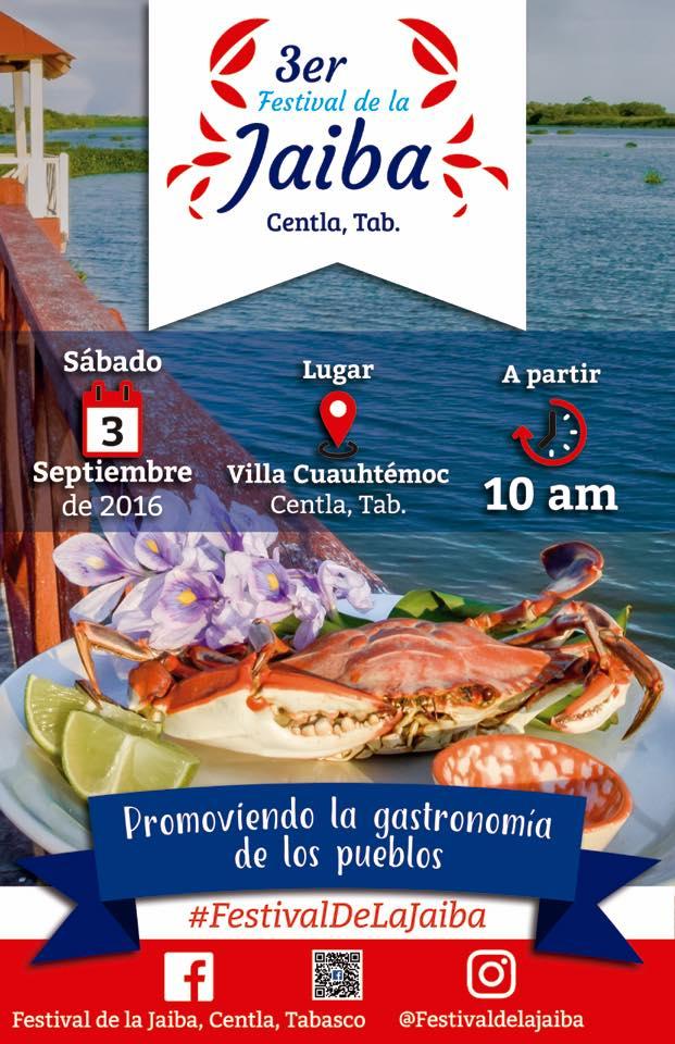 3er Festival de La Jaiba deliciasprehispanicas