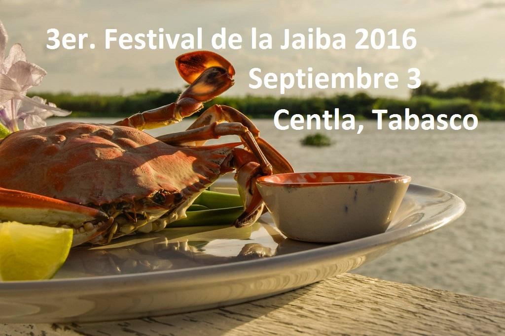 JAIBAS Gratis en el 3er. Festival de la Jaiba, en Tabasco.