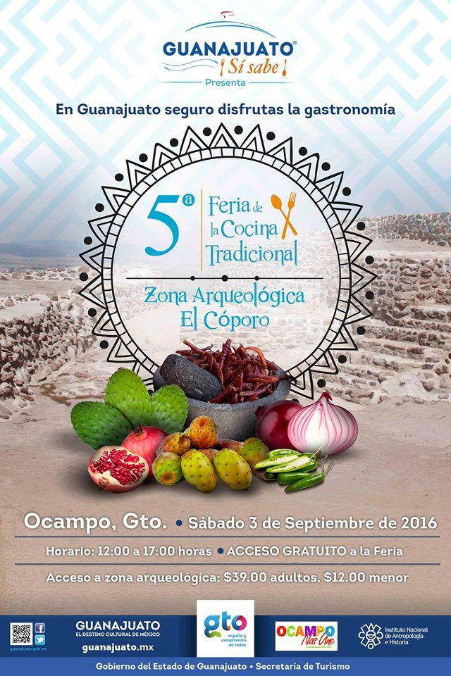5ta. Feria de Cocina Tradicional, El Cóporo.