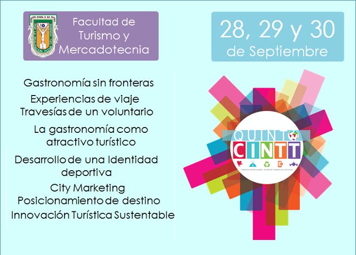 5to. Congreso Internacional de Nuevas Tendencias Turísticas (UABC)