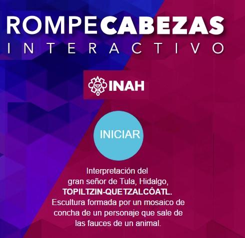 Rompecabezas Interactivo Topiltzin-Quetzalcóatl.