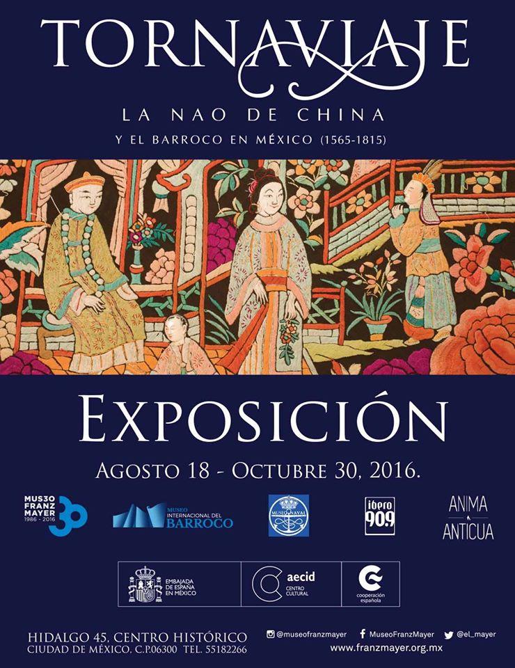 Expo Tornaviaje. La Nao de China y el barroco en México (1565-1815).