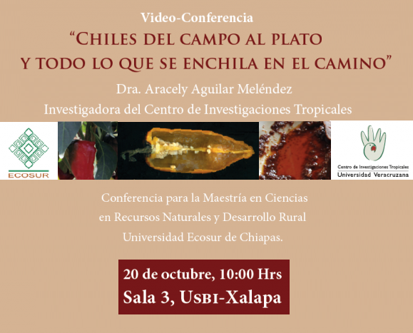 Video-Conferencia «Chiles del Campo al Plato». CITRO