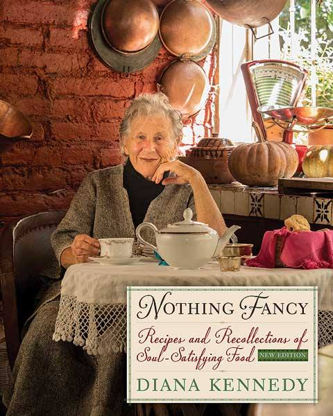 "Dinner and Book Signing to Benefit with Diana Kennedy. ""Nothing Fancy"". November 2016, Santa Cruz."