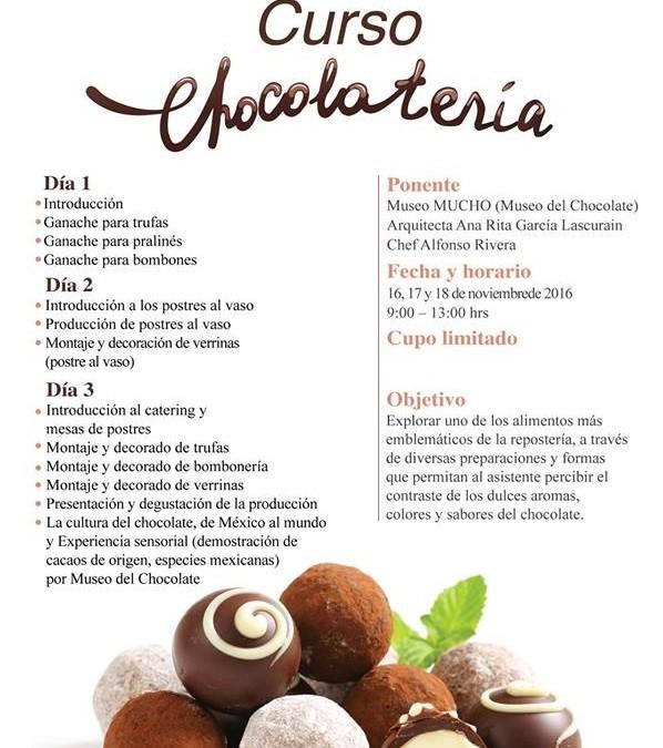 Aprende a hacer trufas, ganache para pralinés y otros postres con Chocolate.