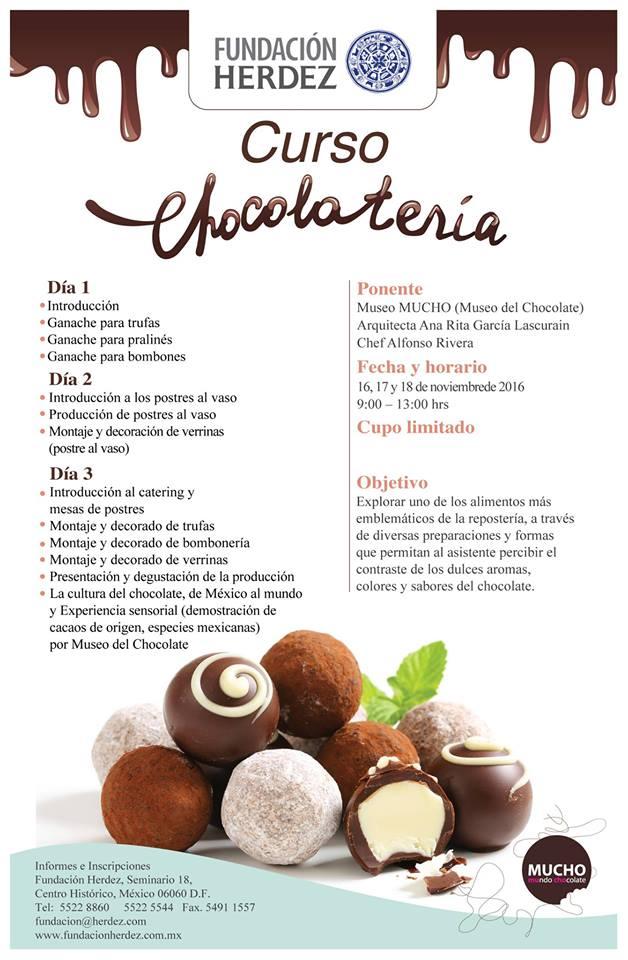 curso de chocolateria