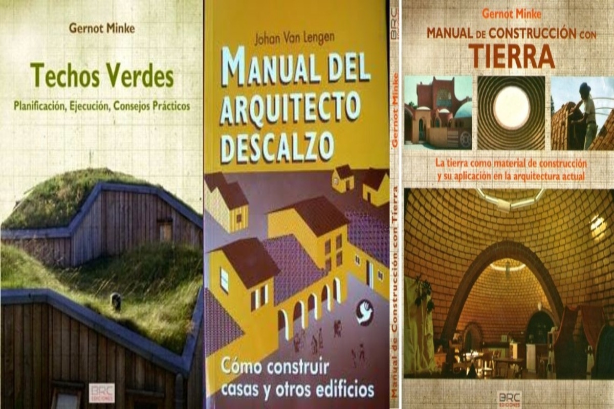 11 Libros de Construcción Sustentable. Adobe, techos verdes, etc. (PDF)