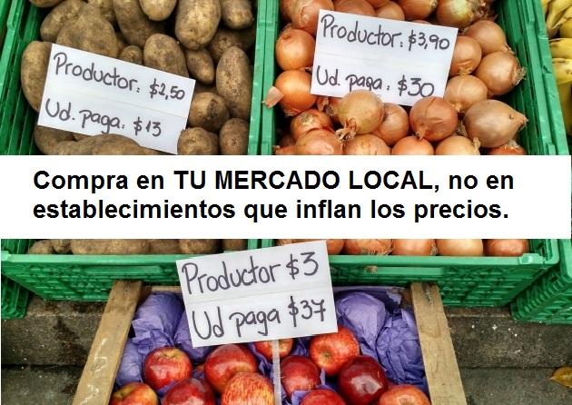 BOICOT este JUEVES a los Supermercados #SupersVacíos #COMPRALOCAL