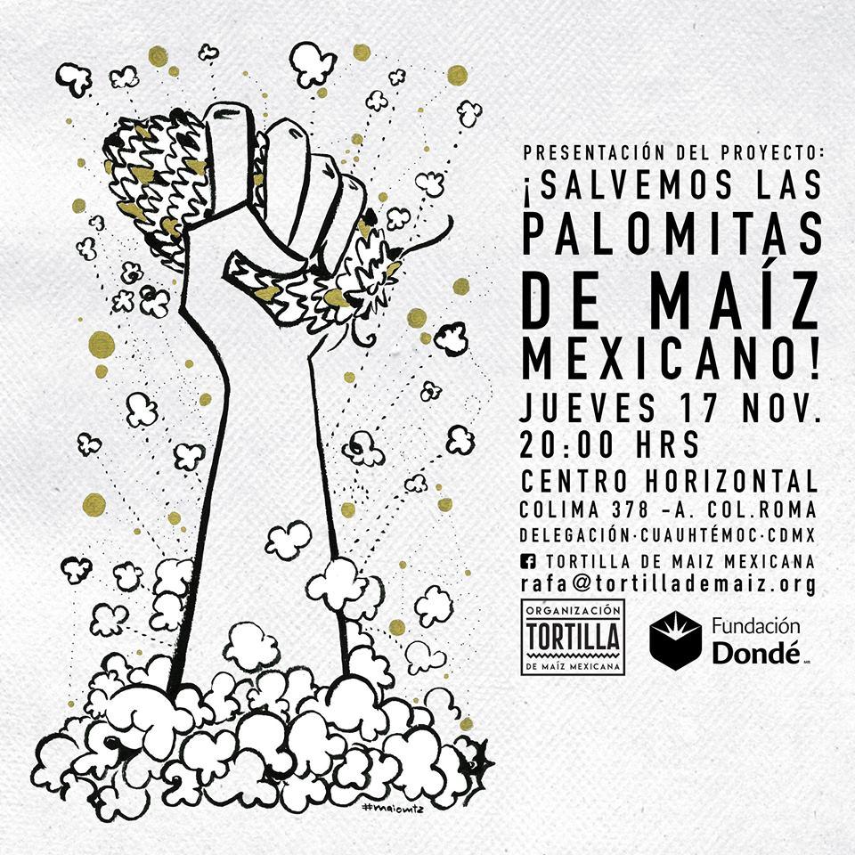 Presentacion de proyecto salvemos las palomitas de maiz mexicano