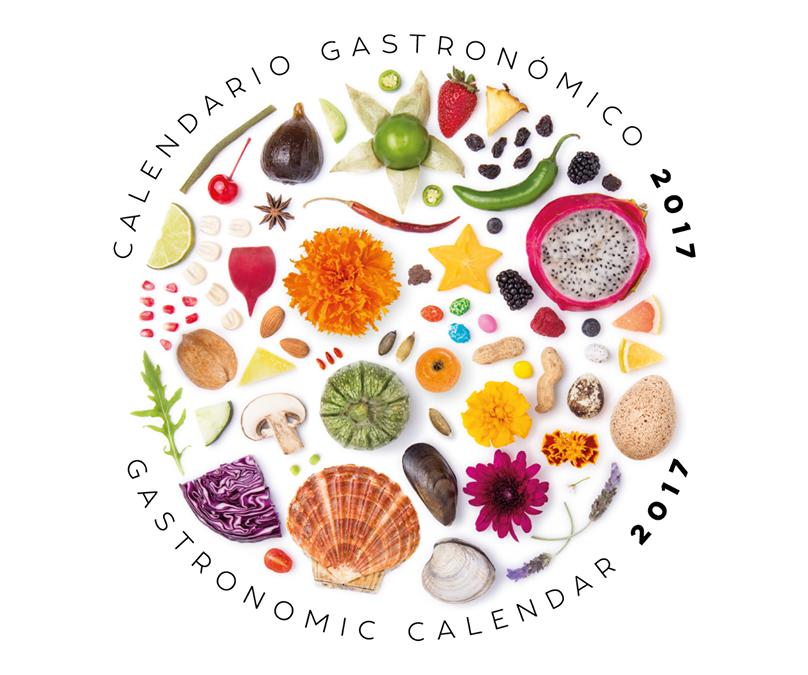 El Calendario Gastronómico 2017 ya esta a la venta (nueva edición).