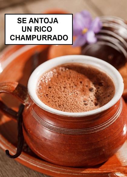 El Mexicanísimo Atole de Champurrado.