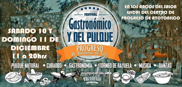 Festival Gastronómico y del Pulque Progreso de Atotonilco de Tula.