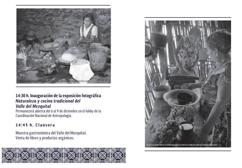 II Encuentro y Seminario Permanente de Cocinas en México PROGRAMA 3