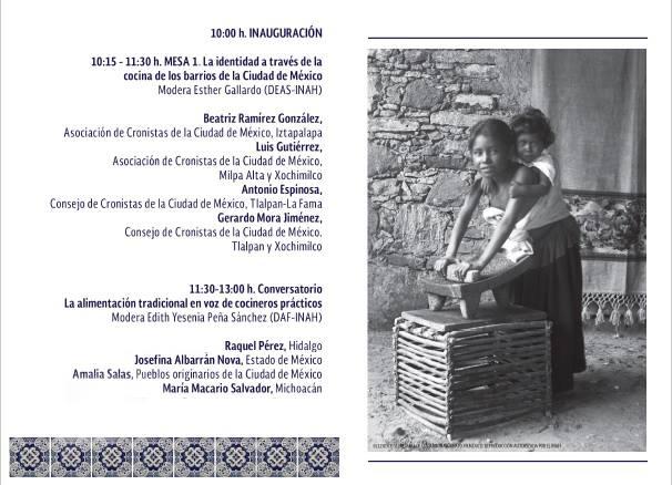 II Encuentro y Seminario Permanente de Cocinas en México PROGRAMA