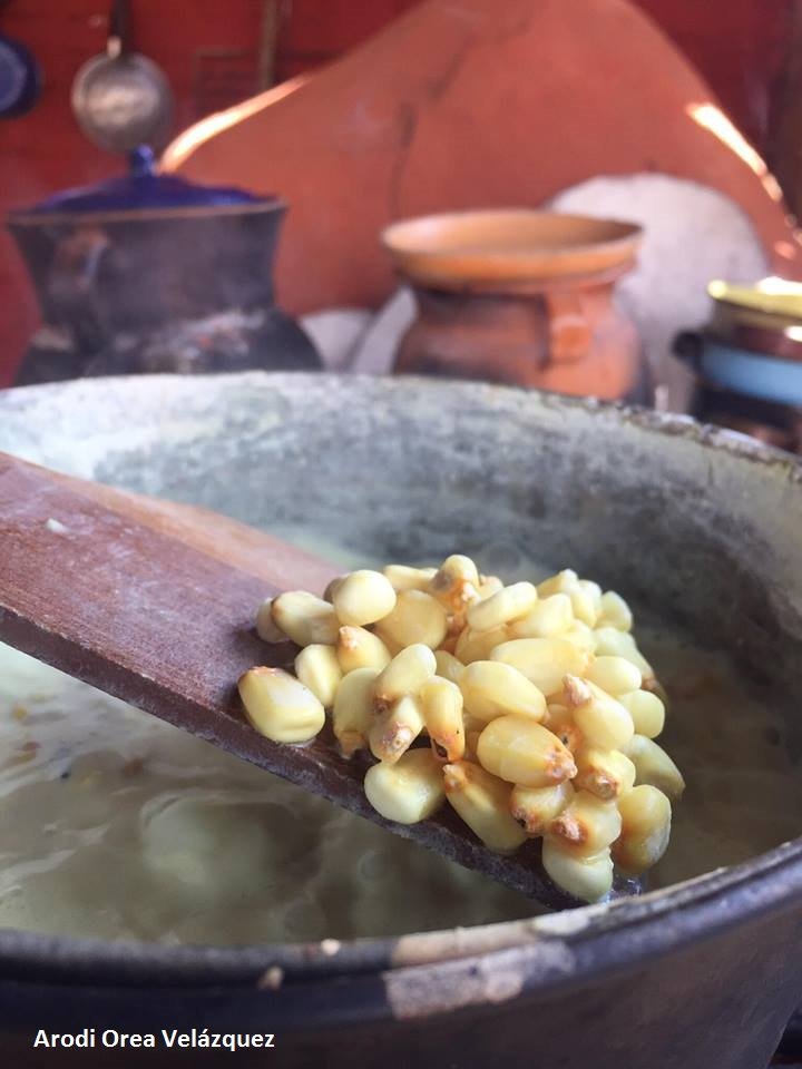 Nixtamalizacion del Maiz. Derechos Reservados Arodi Orea Velazquez.
