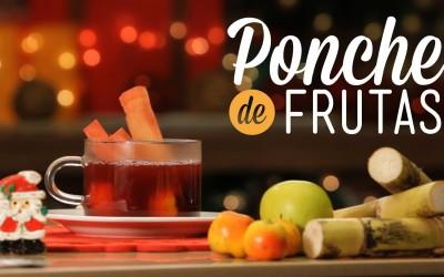 Receta del Ponche de frutas Navideño y datos nutricionales.