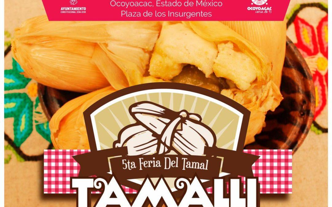 5ta Feria Del Tamal De Ollita en Ocoyoacac Estado de México.