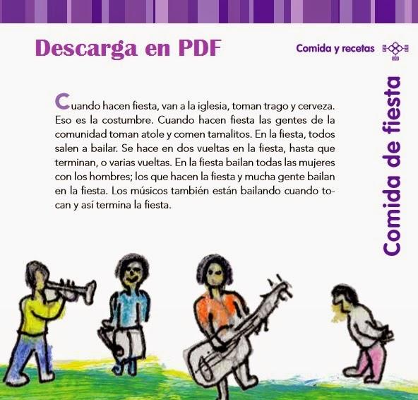 20 Historias, leyendas y recetas de los niños indígenas de México. PDF