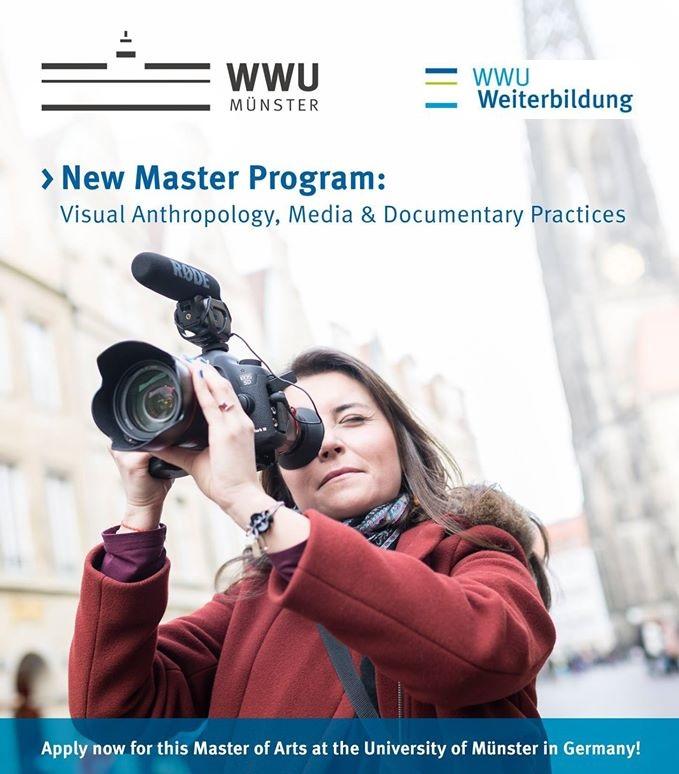 Maestría en Antropología Visual, Medios y Prácticas Documentales,  Münster Alemania 2017