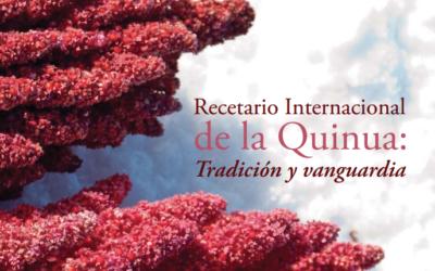 Recetario Internacional de la Quinoa (quinua) con 130 recetas en pdf.