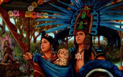 Conoce al Príncipe de las Flores, del amor y la sexualidad. XOCHIPILLI, dios azteca.