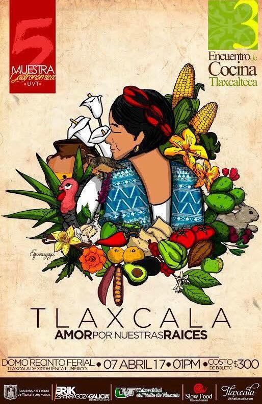 INVITACIÓN a la 5ta Muestra Gastronómica UVT; «Tercer Encuentro de Cocina Tlaxcalteca»