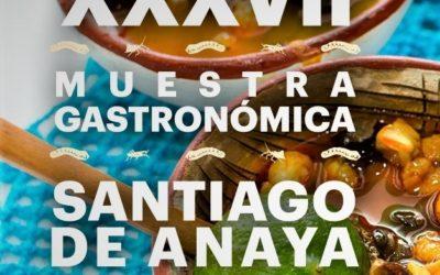 CONVOCATORIA 37va. Edición de la muestra gastronómica de Santiago de Anaya, Hidalgo