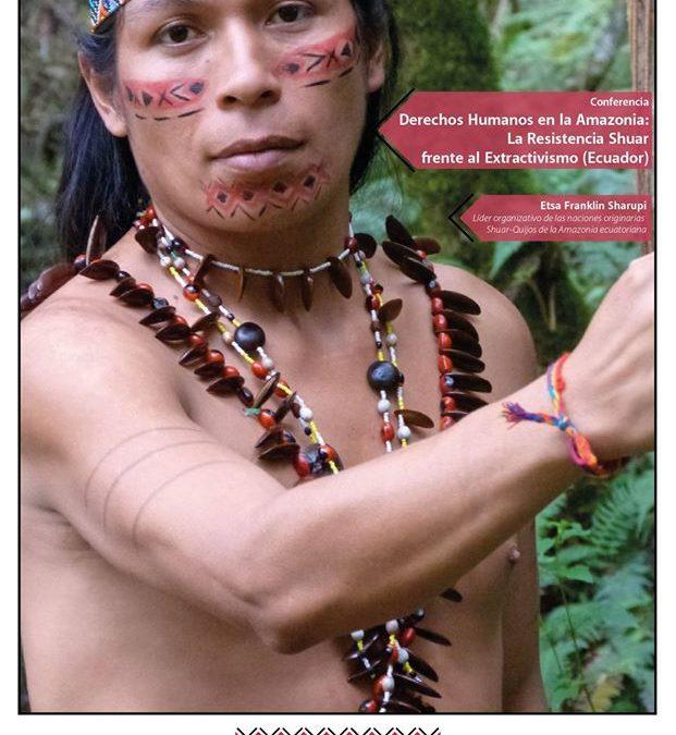 """UNAM – Ciclo de CONFERENCIAS """"Patrimonio y soberanía alimentaria en la Amazonia Ecuatoriana. Un enfoque antropológico"""""""