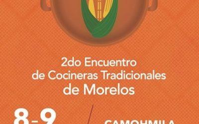 2do. Encuentro de Cocineras Tradicionales de Morelos.